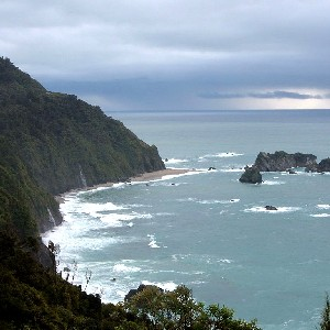 Knight's Point, West Coast, New Zealand