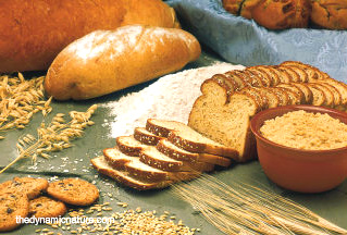 Whole grains are good sources of vitamin B5.